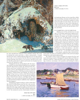 Inside Salmagundi Club Article from Fine Art Connoissuer Magazine